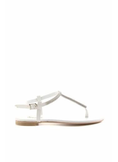 Bambi Spor Sandalet Beyaz
